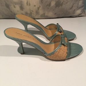 ❤️❤️GORGEOUS NINE WEST SANDALS --size 9❤️❤️